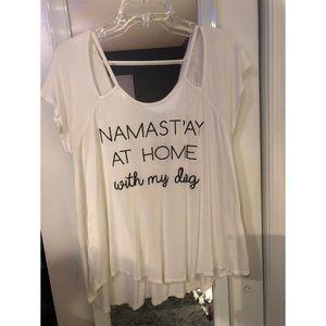 Francesca's Namastay top